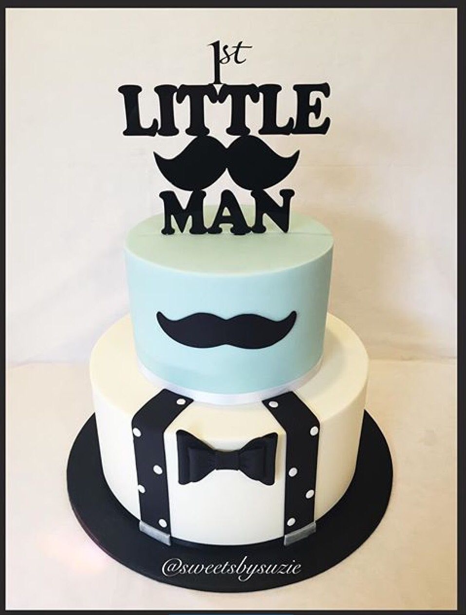 Lil Man Baby Shower Cakes : shower, cakes, Foursquare, Birthday, Cake,, First, Cakes