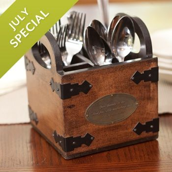 Give Thanks - Wooden Caddy image