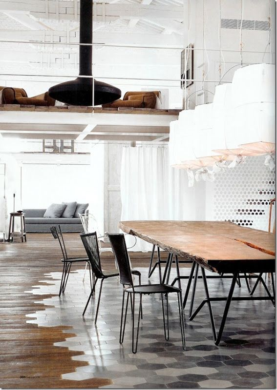 Interior design industrial style french style for Nordic style arredamento