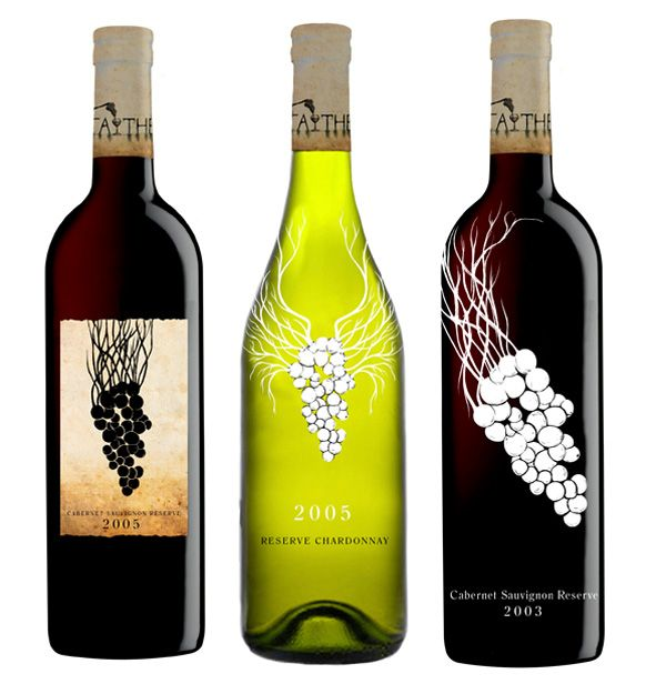 Wine Labels With Grapes  Alcohol  Wine Liquors