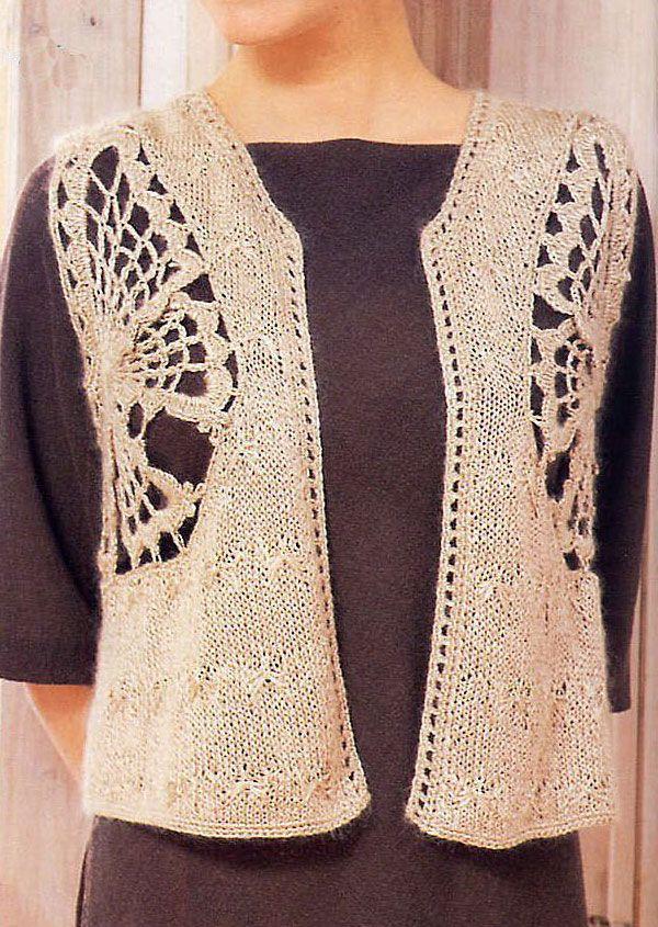 Patrones Crochet: CHALECOS | chalecos | Pinterest | Patrones ...