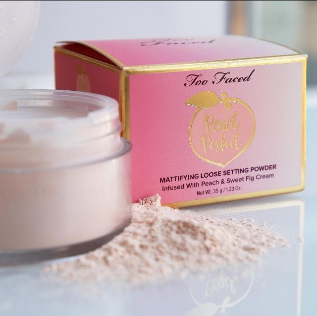 Peach Perfect Mattifying Loose Setting Powder by Too Faced #9