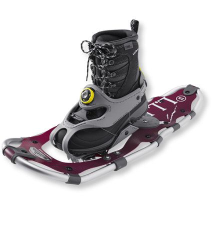 <p>Snowshoes have undergone a lot of changes in their 4,000 years of existence. But we feel none is a game changer like the addition of the revolutionary BOA closure. Just pull the adjustment knob out to release the heel strap, slip in your boot and tighten the knob for an exceptional fit. Even better, you don't have to take your gloves off. Adapts to fit most types and sizes of winter boot. They also make it incredibly easy to switch between users of different size feet. Frame is made from…