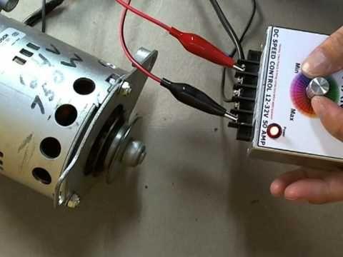 DC 12V-32V 50A Motor Speed Controller (PWM) - YouTube