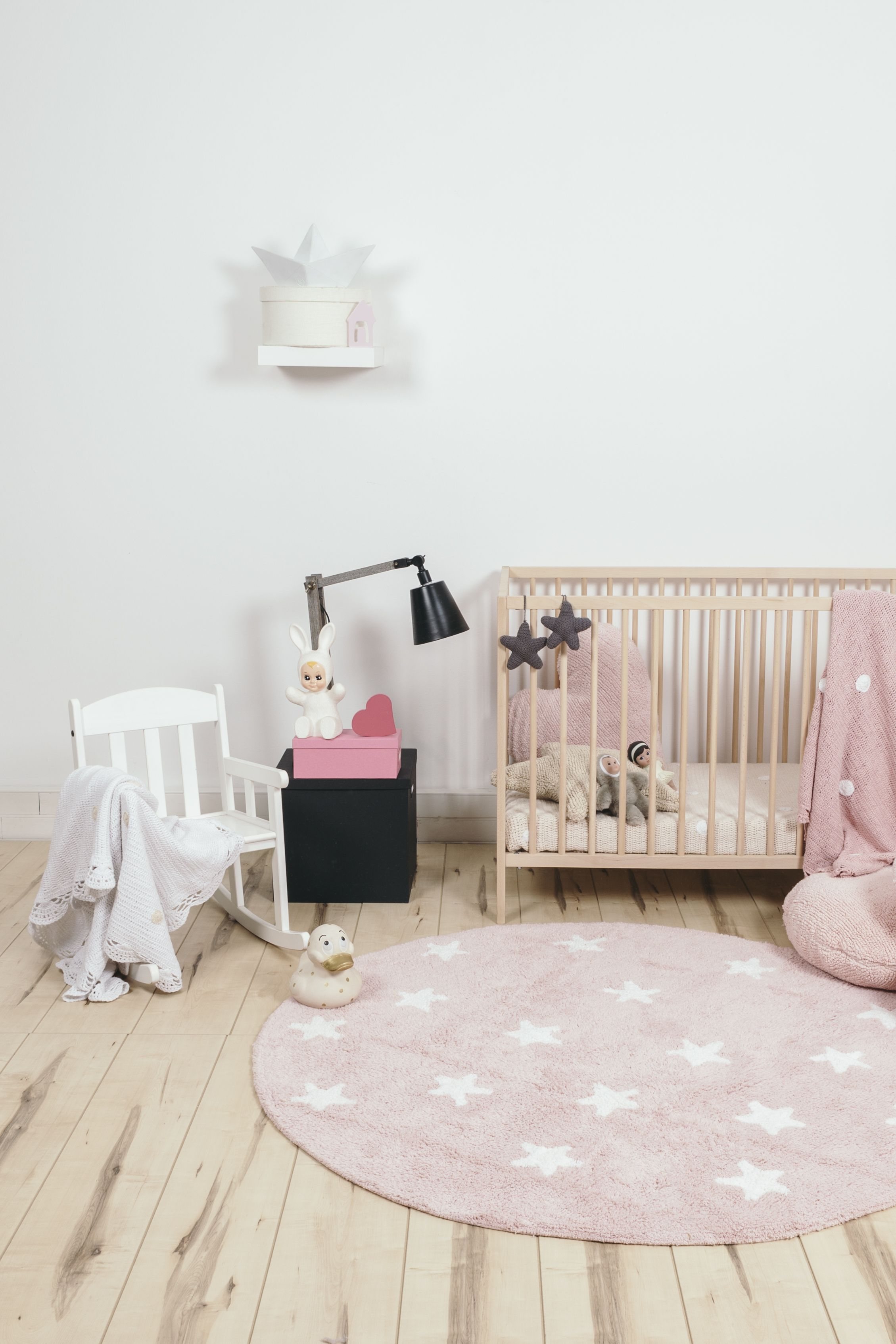 The Galletita Rug Is The Perfectly Pink Addition To A Sweet Baby Girl  Nursery. Love The Shape And Scallop Detail!