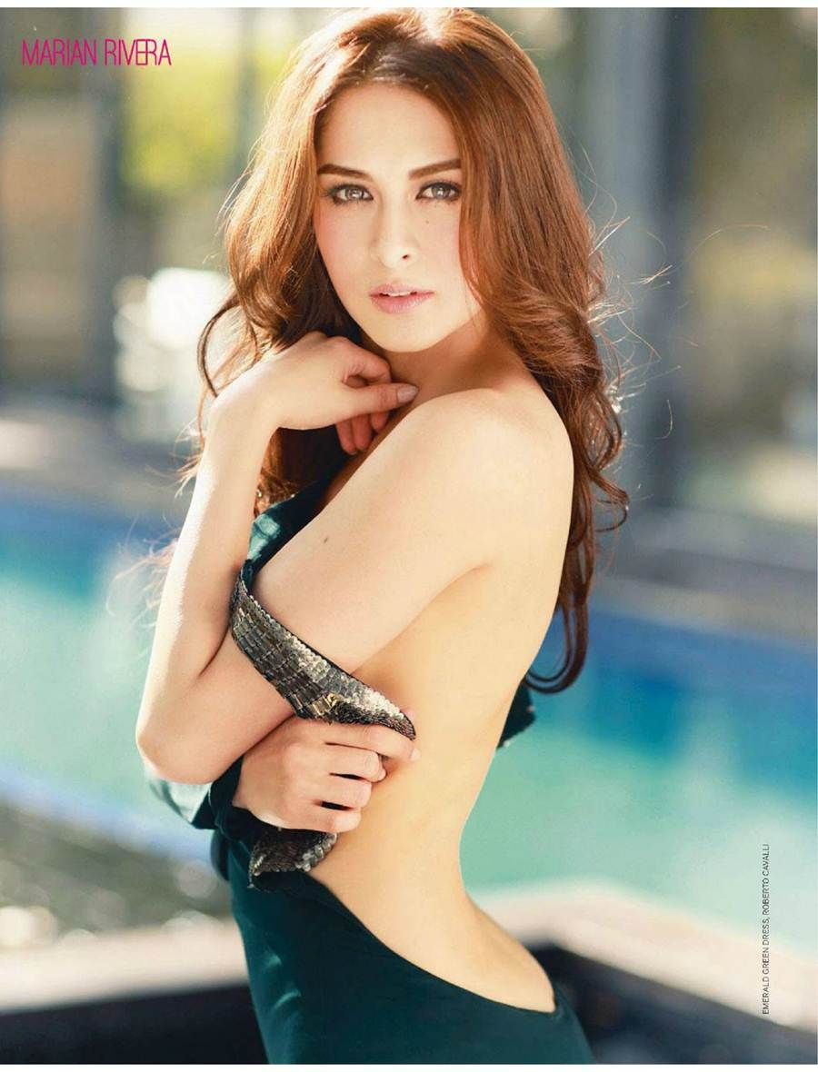 Beautiful Marian Rivera Sexy Back O_o
