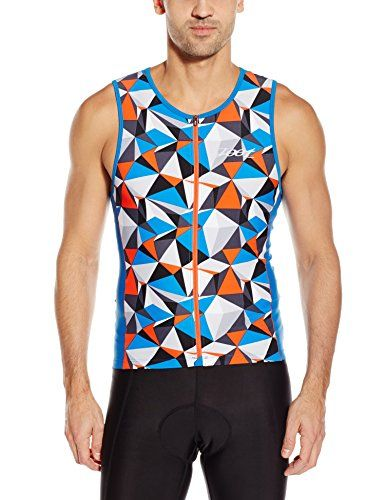 ZOOT Mens Performance FZ Tri Tank Top Vivid Blue Camouflage Large    Be  sure to check out this awesome product. 581c364ac