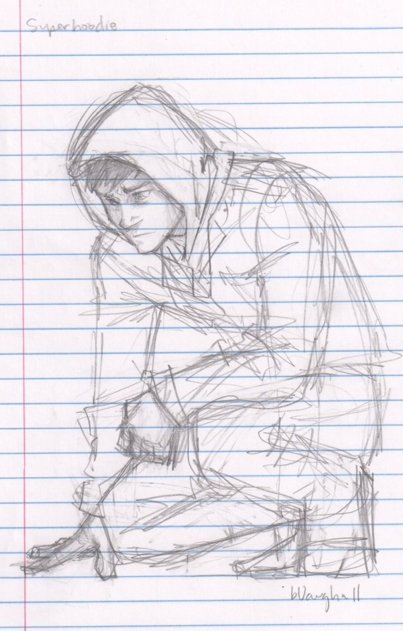 Room Sketching: Why Do I Like Sketch Drawings Of Male Characters So Much