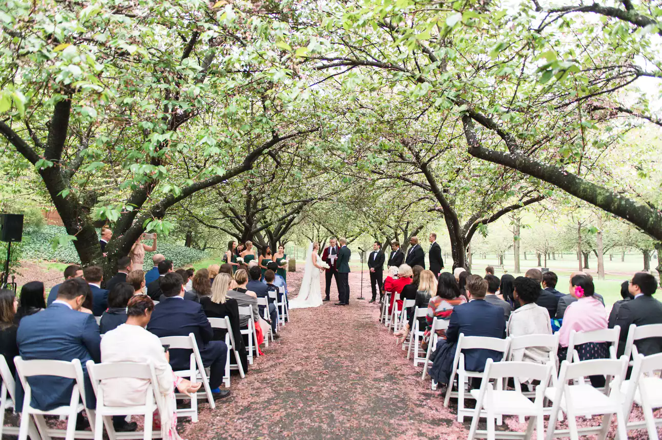 Brooklyn Botanic Garden Weddings NYC Wedding Venue