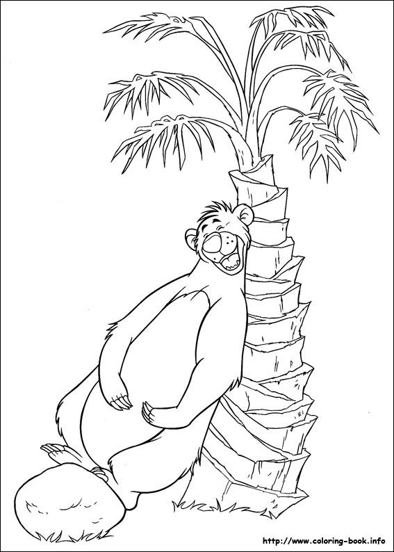 Jungle Book Coloring Picture Coloring Pictures Disney Coloring Pages Coloring Pages