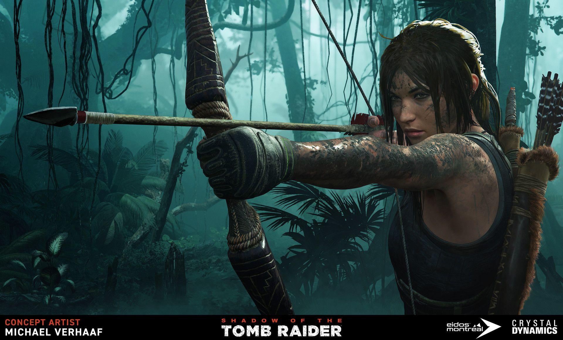 Shadow Of The Tomb Raider Key Art Tomb Raider Game Tomb Raider Tomb Raider Pc