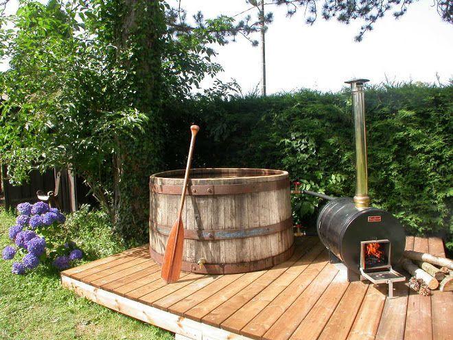 Comment fabriquer un jacuzzi soi m me spa et piscines - Fabriquer un chauffe eau piscine bois ...