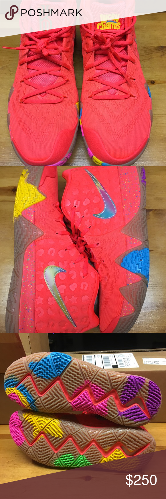 finest selection 480e2 d6dec Nike Kyrie Irving 4 lucky charms men's 12.5 new I am selling ...