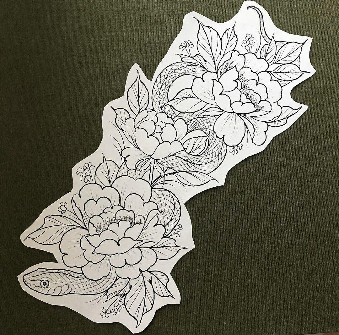 Arm/leg tattoo design