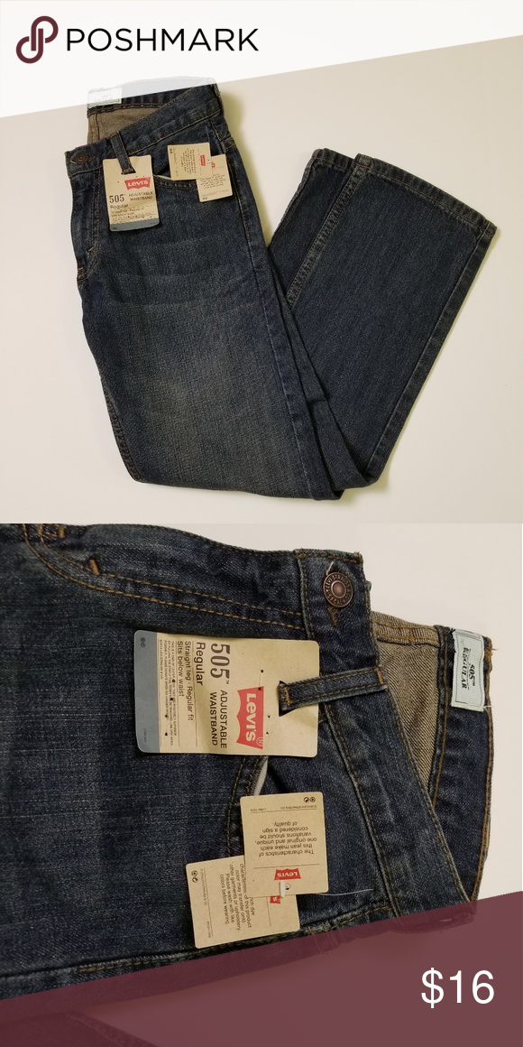Voice Levi's 505 regular jeans brand new with tags Levis