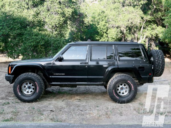 Fit 33s On An Xj Cherokee With 2 Inches Of Lift Jp Magazine In 2020 Jeep Cherokee Xj Jeep Cherokee Jeep Xj