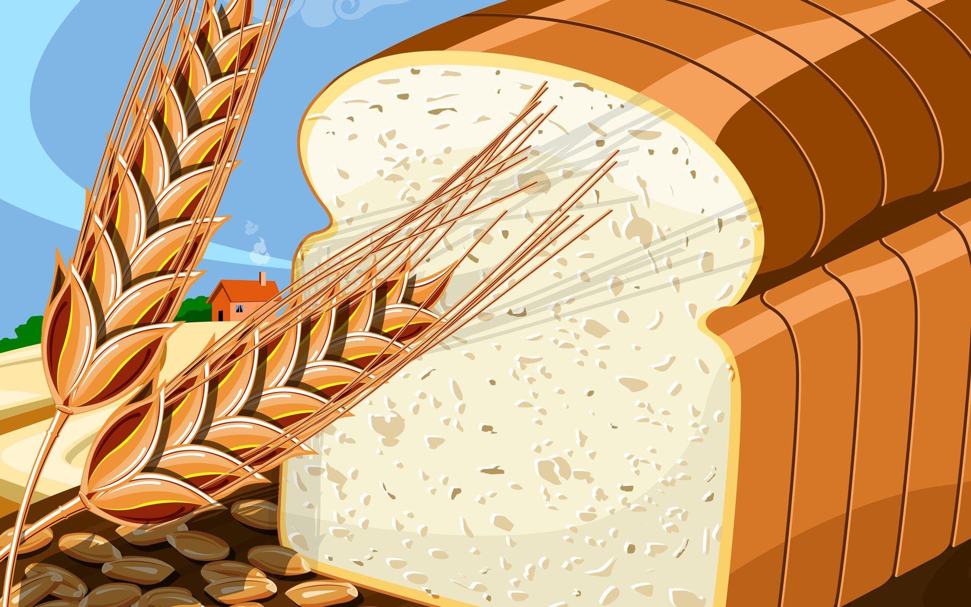 Wheat Bread Clipart