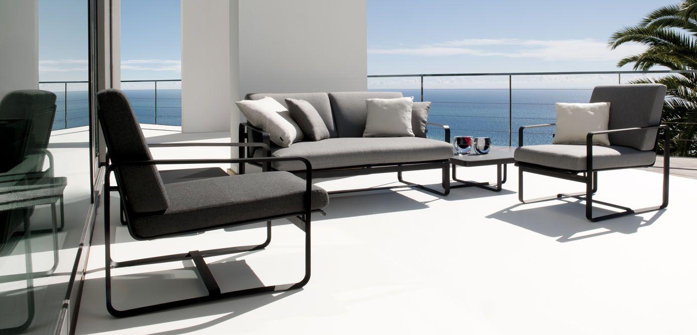 Neutra Sofa design outdoor sofa by Vincent Van Duysen