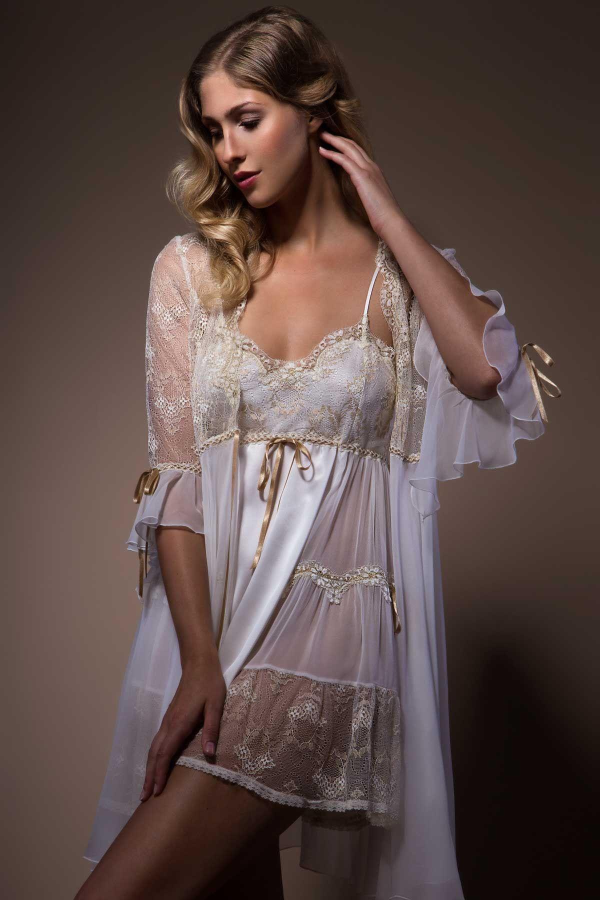 Designer bridal lingerie