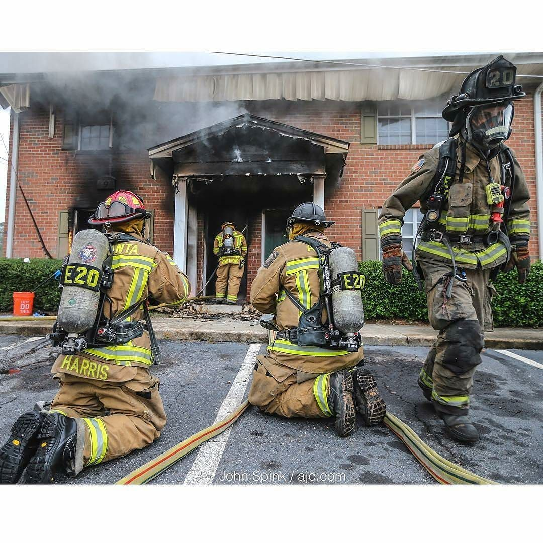 FEATURED POST jspink1 Atlanta firefighters put a stop