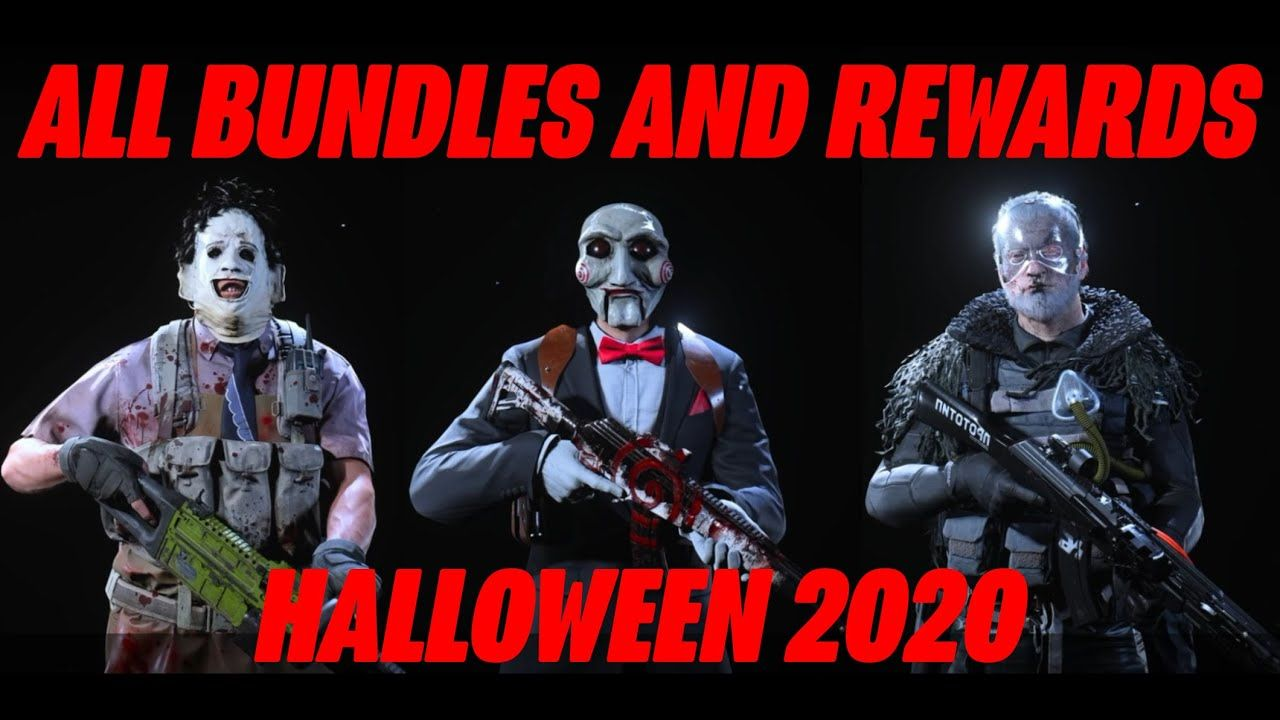 Brand New All Halloween Bundles And Rewards Call Of Duty Modern Warfare Modern Warfare Call Of Duty Warfare