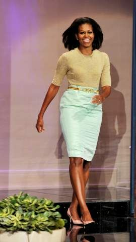 The First Lady's got style