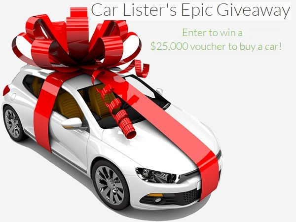 Free Car Giveaway >> Win A 25 000 Voucher To Purchase A Vehicle Giveaway Car