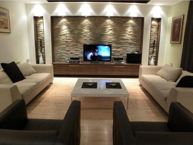 impressionnant meuble tele moderne salon | Décoration française ...