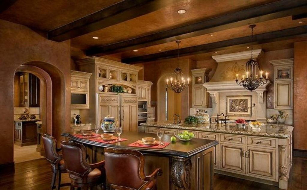 old world tuscan kitchen design for long last idea : decorating