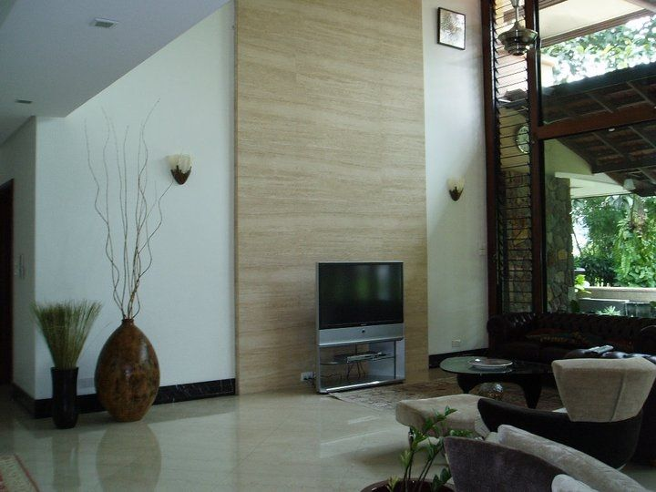 Idea A Big Wall Of Natural Stone For The Living Room Decorating Ideas Living Spaces