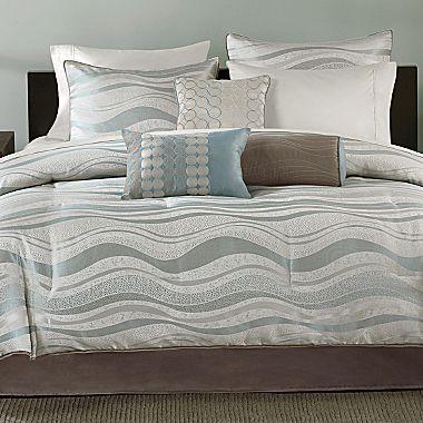 Crete 7 Piece Comforter Set Jcpenney Comforter Sets Bed Comforters