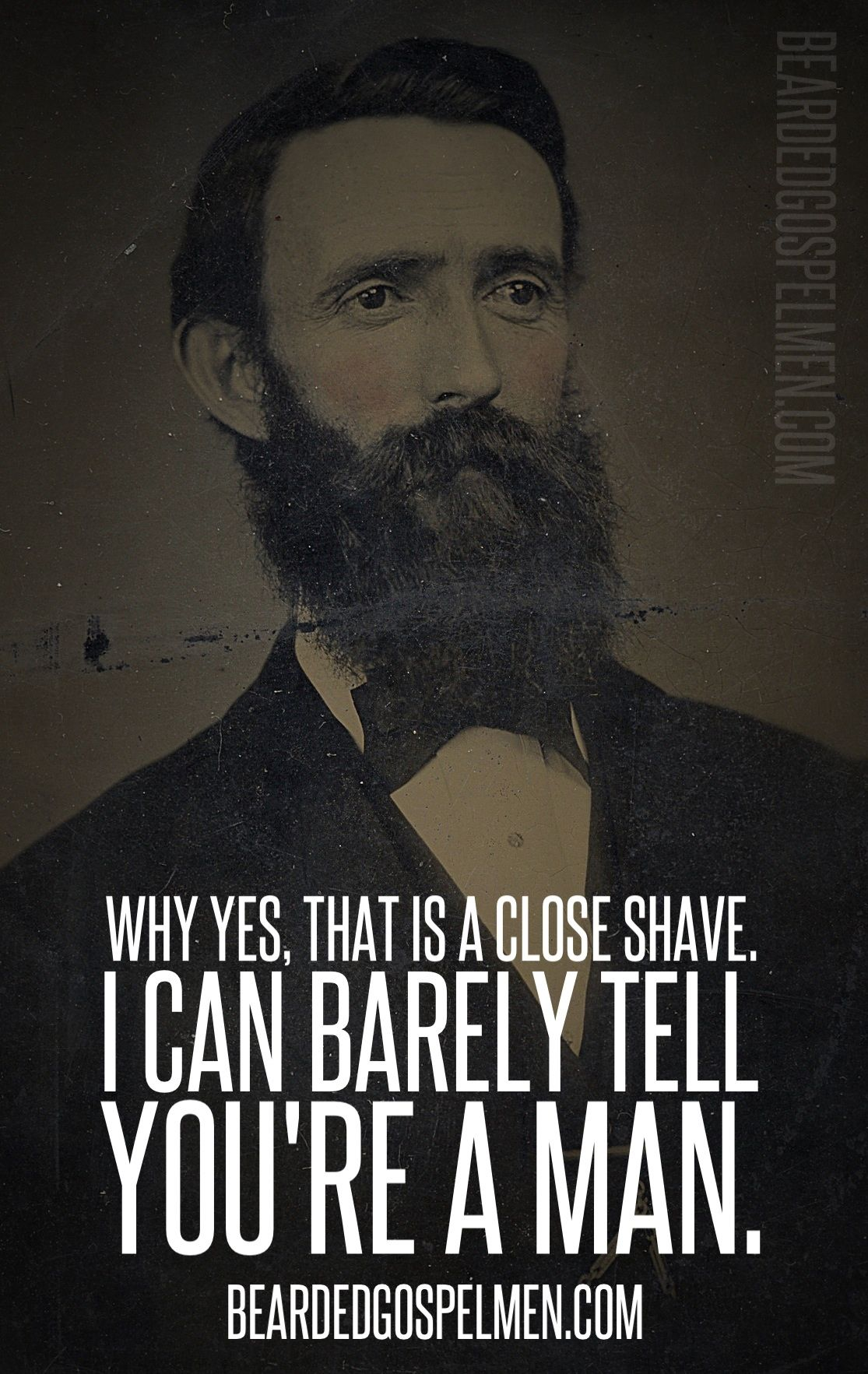 Quotes About Bearded Men. QuotesGram