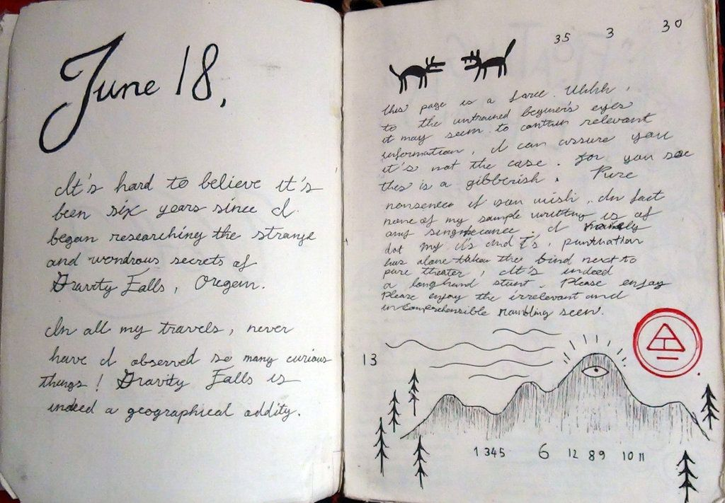 Gravity Falls Journal 3 Replica