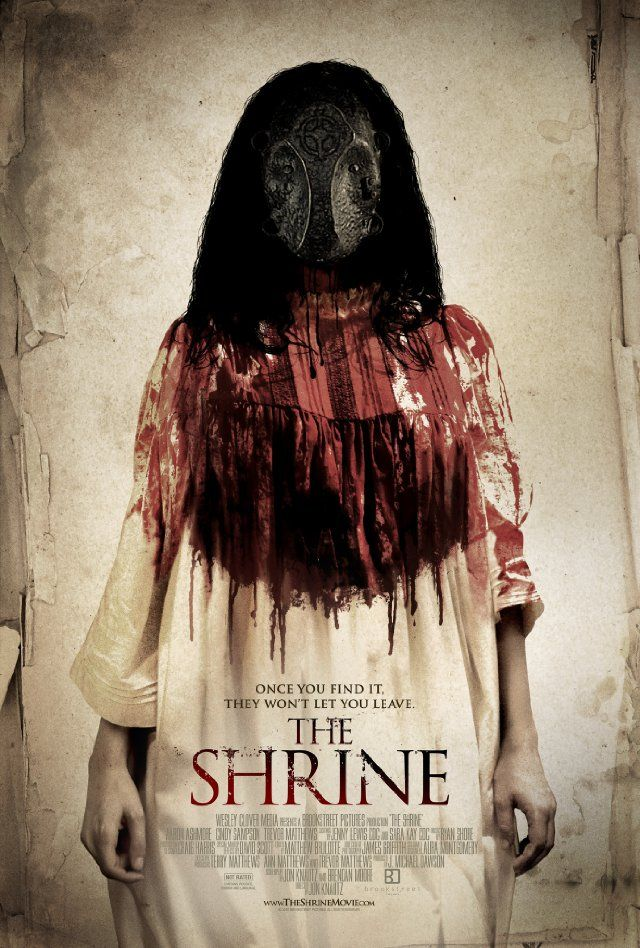 The Shrine 2010 Underrated Low Budget But Overall Very Creepy Movie 8 10 Horror Movies Horror Movie Posters Thriller Movies