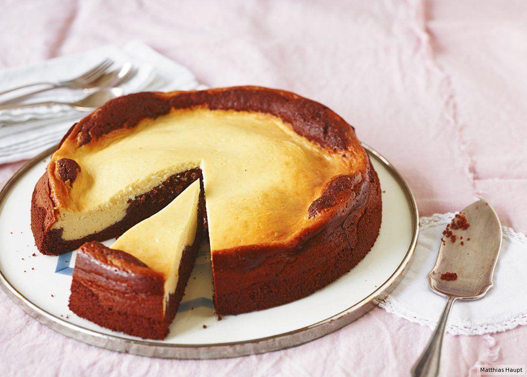 Schoko Quark Kuchen