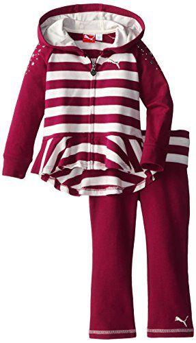 9a8914b4a831 Kids clothing · PUMA Little Girls  Hi-Lo Peplum Set