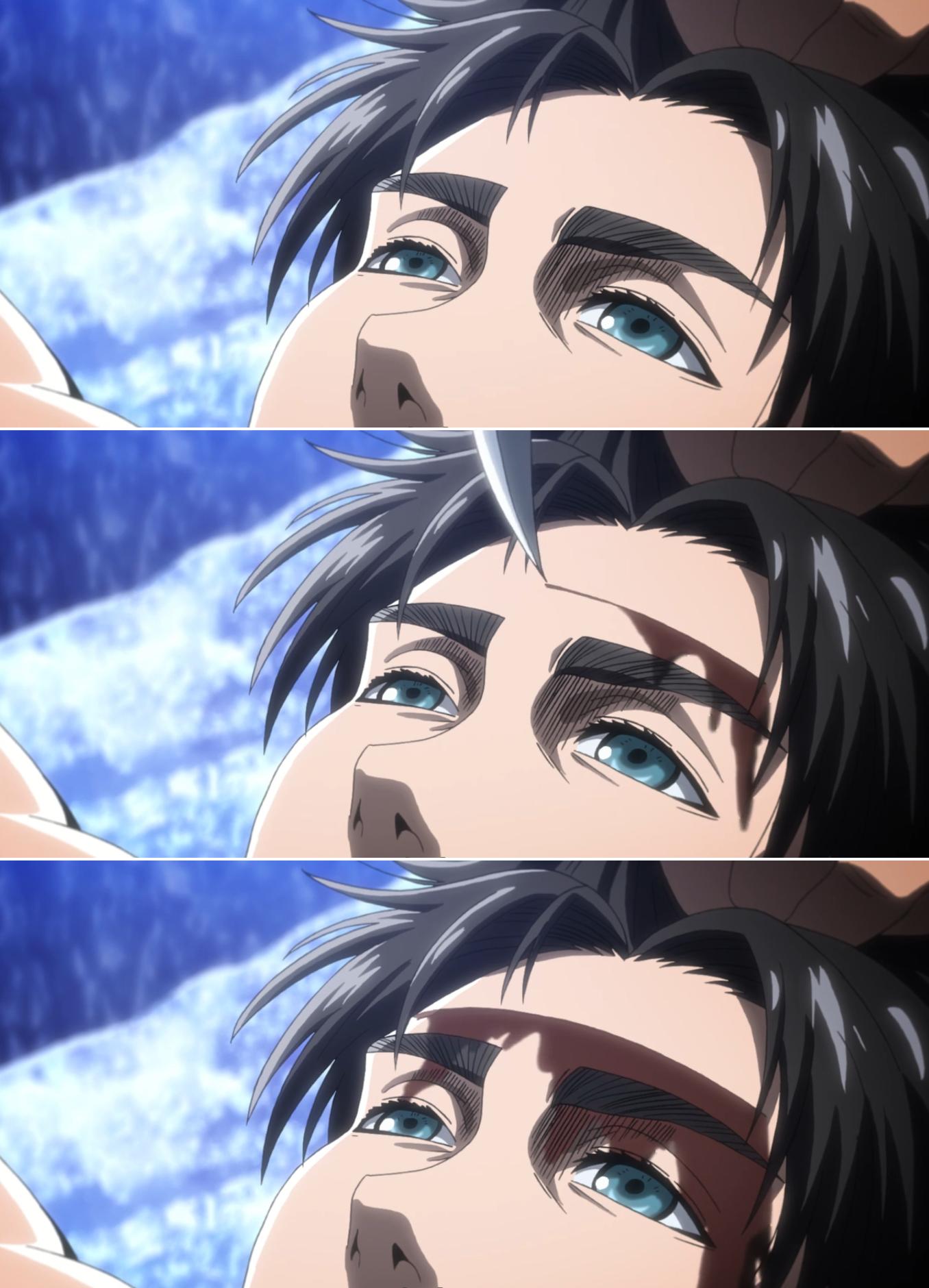 Hopeless and helpless Eren ( Attack on titan fanart