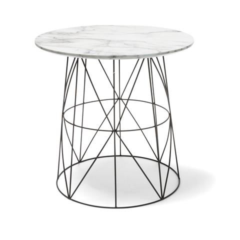 Image For Marble Top Wire Table From Kmart