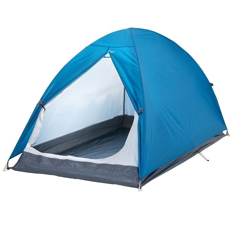 Quechua 2 Man Tent Camping Hiking Waterproof Free Standing Dome Canopy Poles Set
