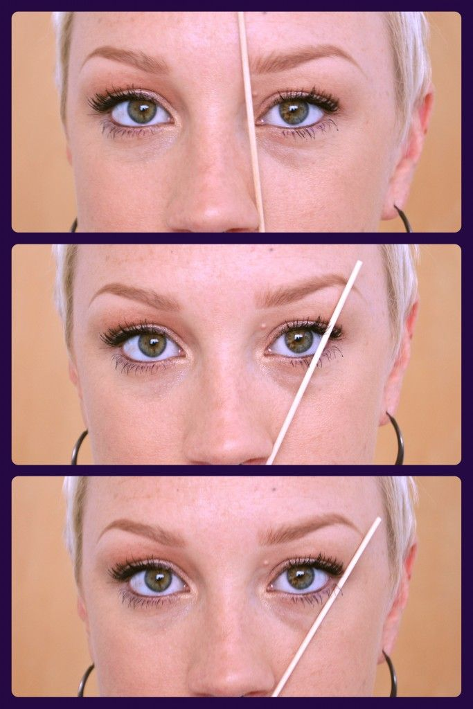 How To Shape The Perfect Eyebrow Diy Makeup Tips Tricks