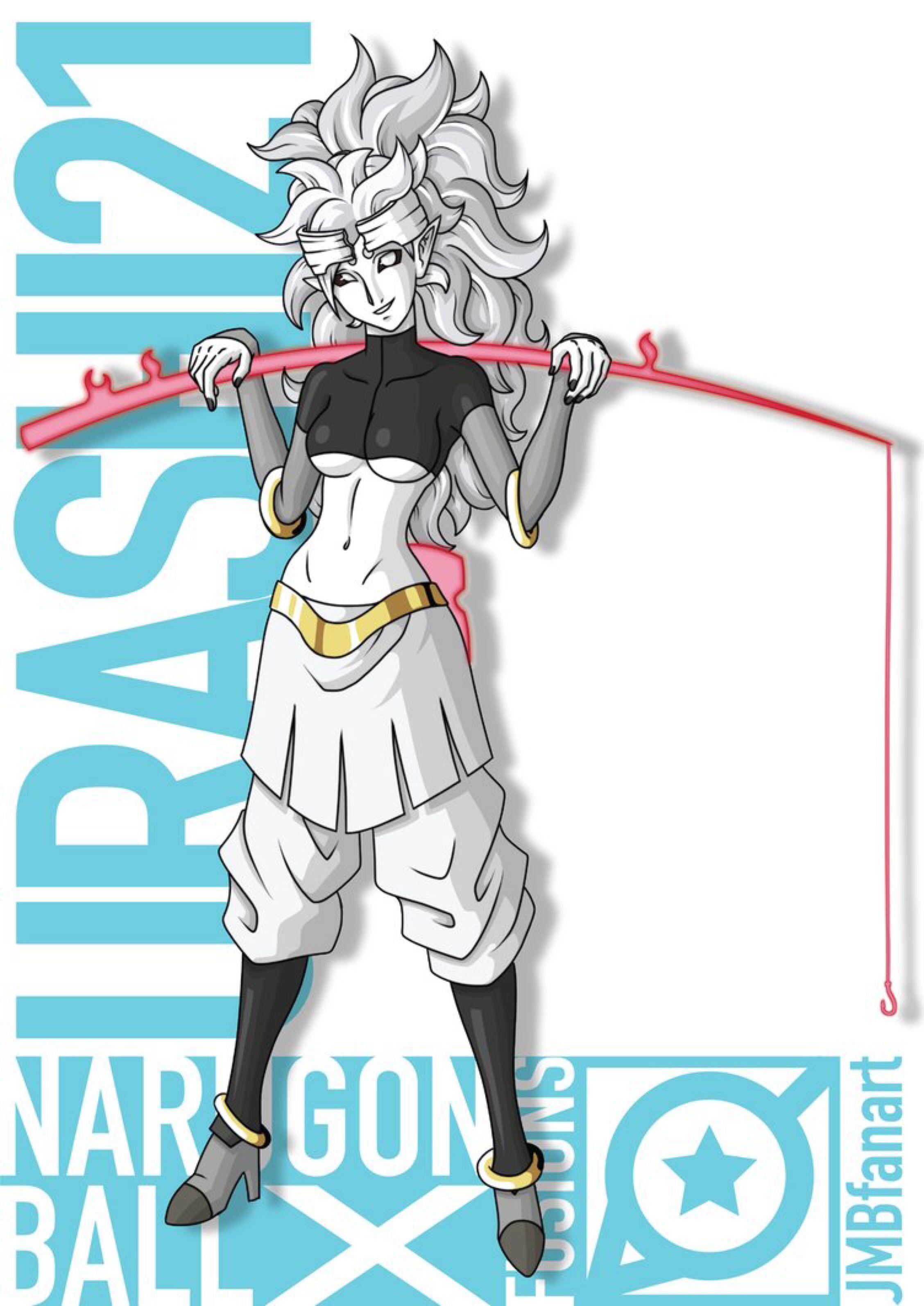 Urashi21 (Android 21 and Urashiki fusion) by JMBfanart on
