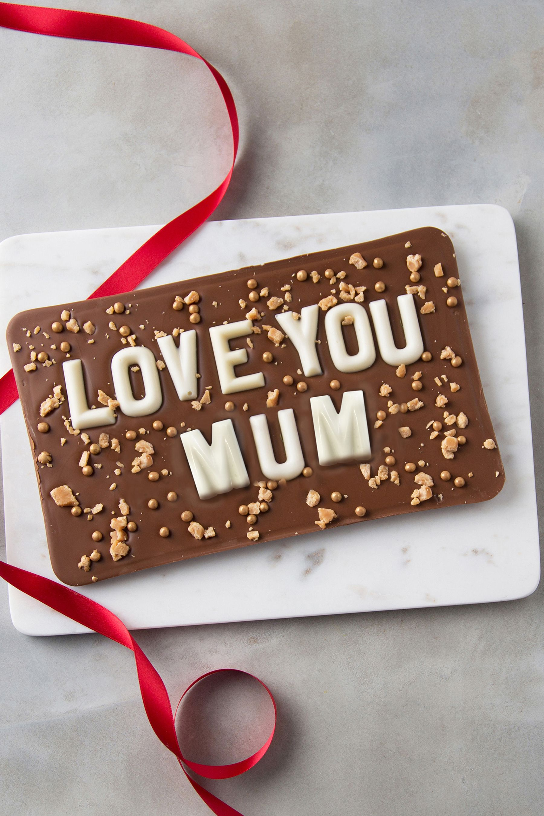 Personalised Love You Giant Chocolate Slab Bar by Quirky