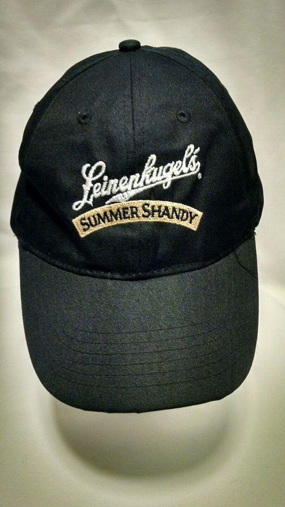 e5fb4238b9e Leinenkugels Summer Shandy Cap hat Black Embroidered Logo
