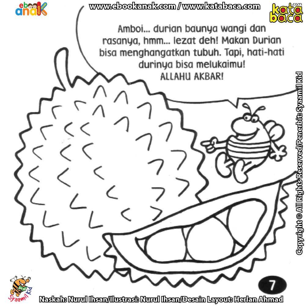 Selain Lezat Buah Durian Juga Bermanfaat Menghangatkan Tubuh