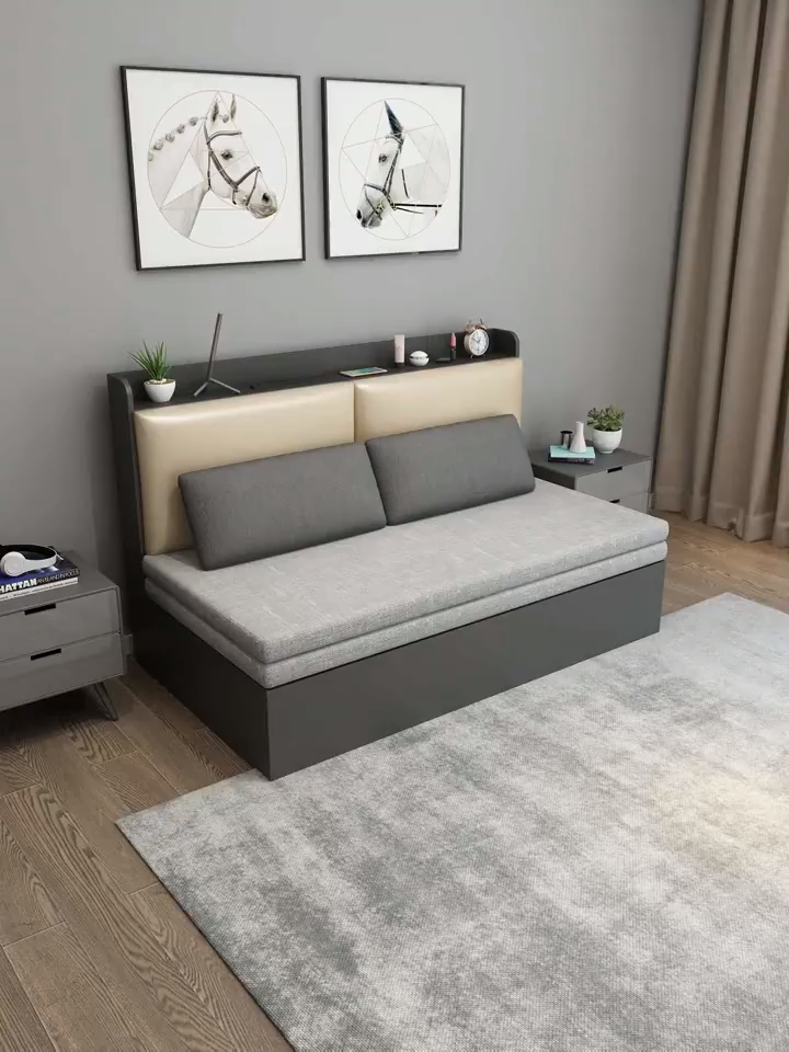 Modern Sleeping Small Bedroom Sofa In 2020 Small Bedroom Sofa Sofa Bed Design Bedroom Furniture Design