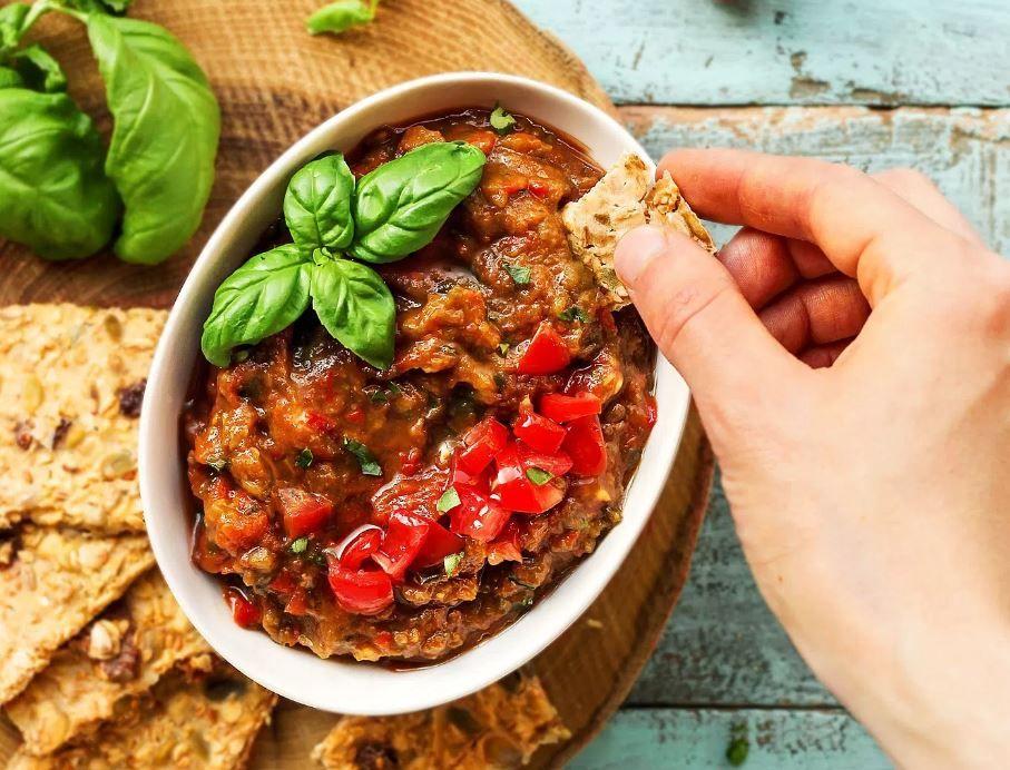 Essential Picnic Recipes - Eggplant Dip