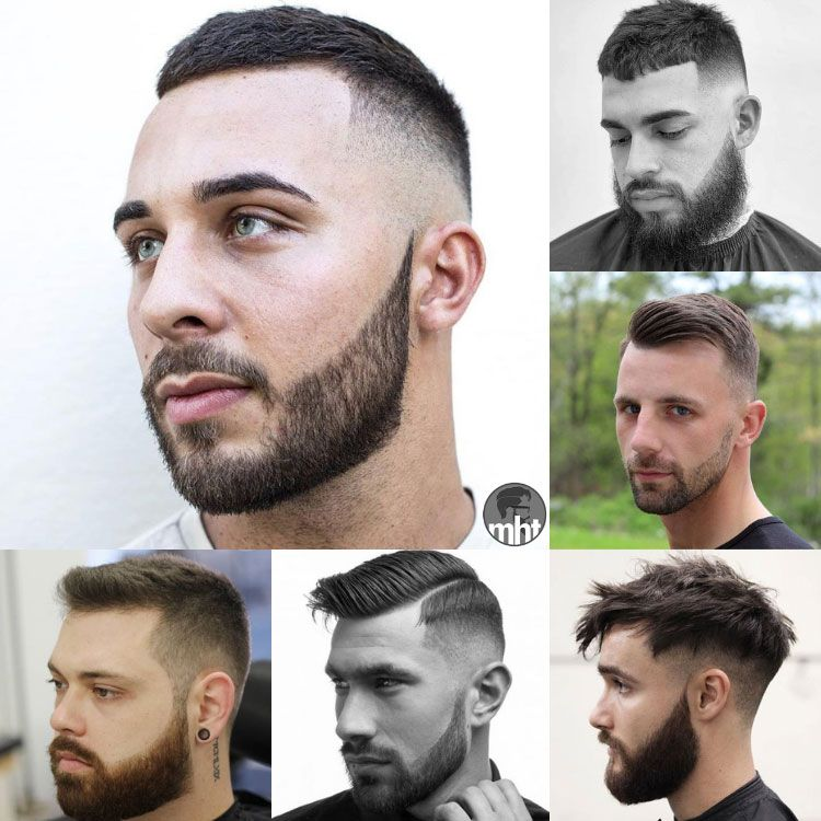 29 Best Short Hairstyles With Beards For Men 2020 Guide Short Hair With Beard Beard Styles Short Beard Hairstyle