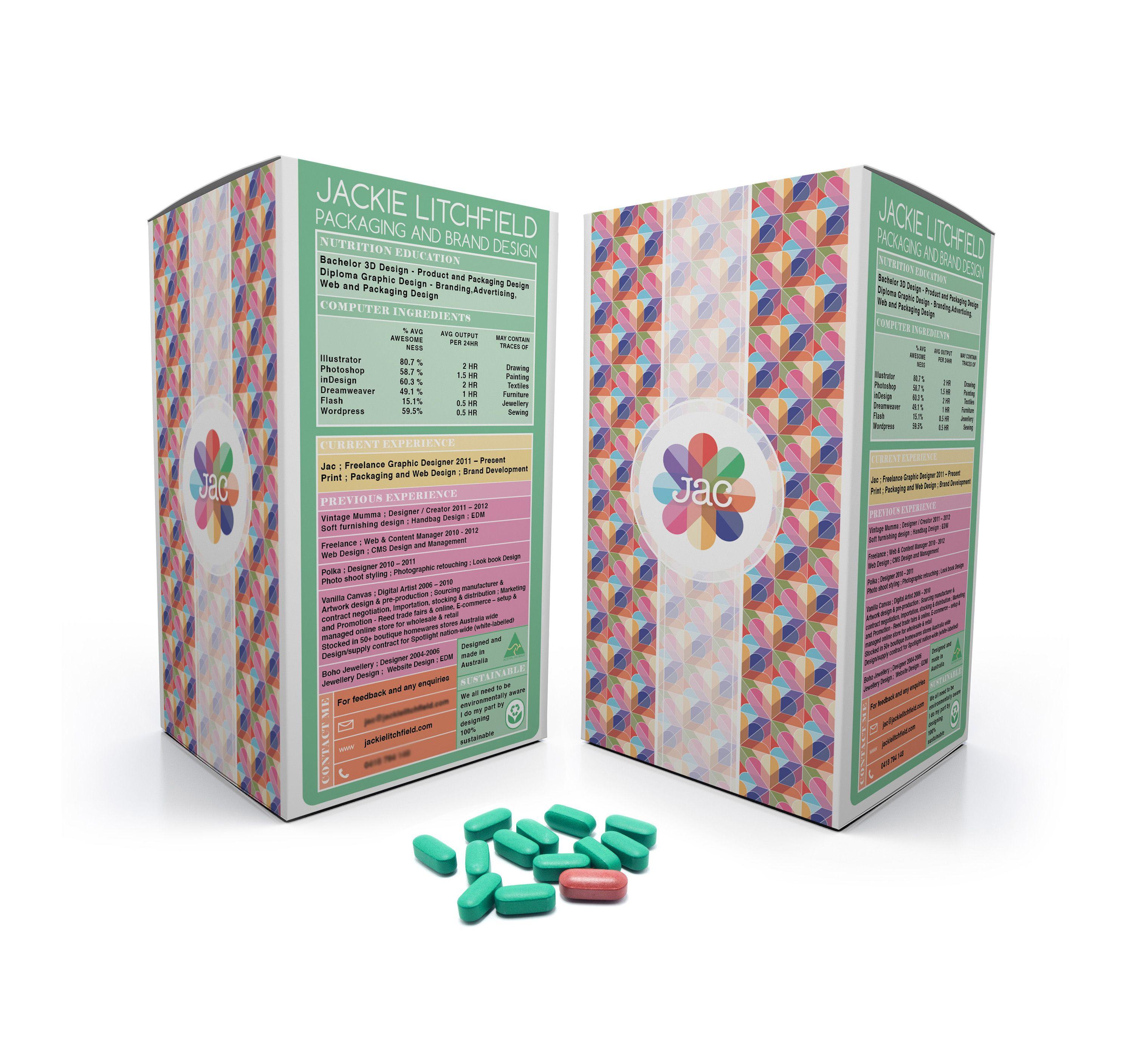 creative packaging designer resume cv cv pinterest resume cv