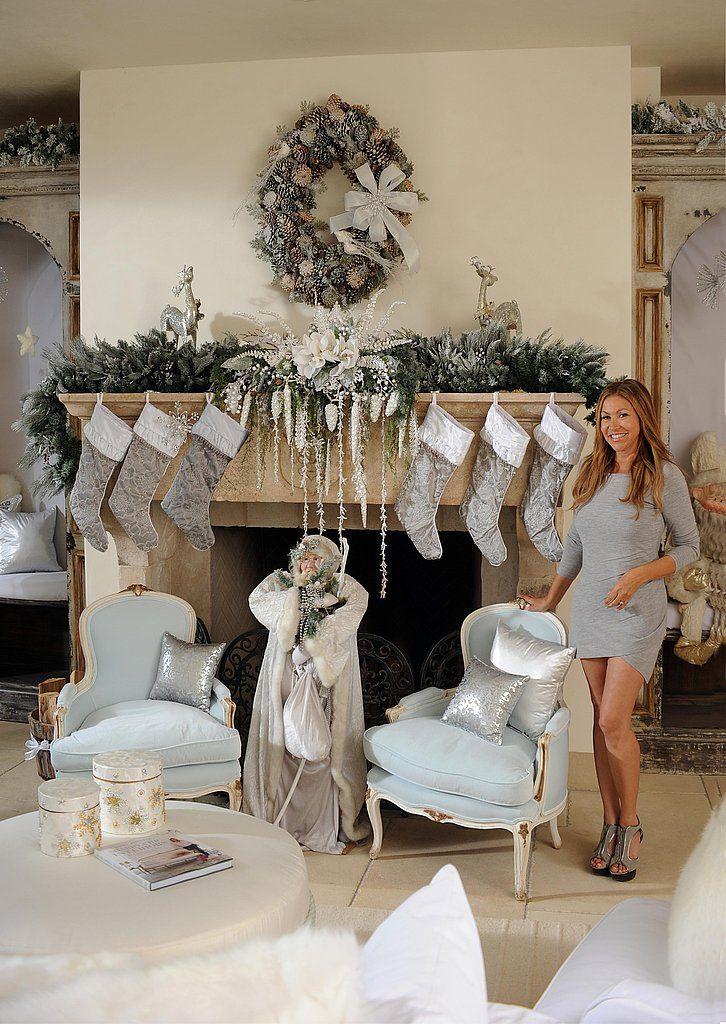 Photos Brooke Burke Christmas Decor Designed Sandra Espinet Hgtv Jpg 726 1024 Holiday Decor Pinterest