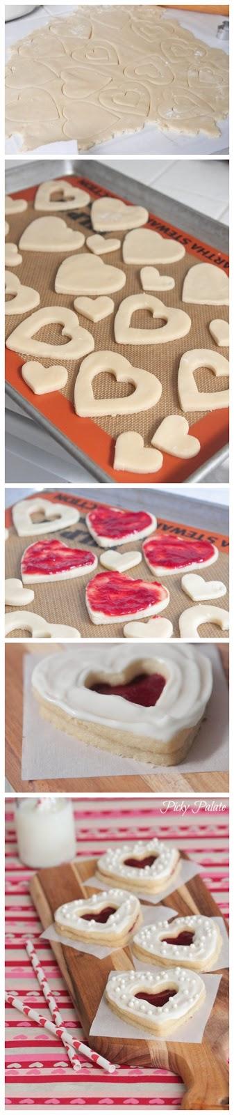 joysama images: Valentine Shortbread Cookie Sandwiches | plätzchen ...